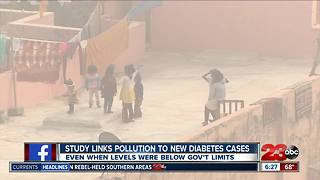 Study links pollution to new diabetes cases