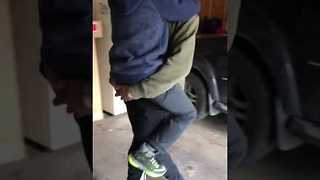 Kid Brother Overjoyed at Surprise Sibling Visit - Video