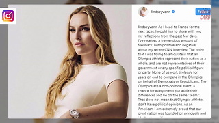 "Lindsey Vonn Brings ""Clarification"" On Trump Criticism"