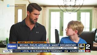 Michael Phelps appears in 'Angst' documentary - Video