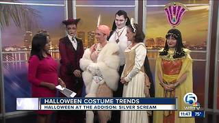 Hot costumes for Halloween - Video