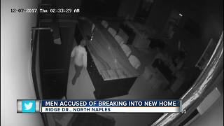 Thieves prey on family moving into new home - Video