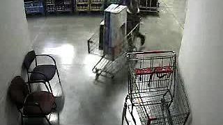 Thieves leave BJs with TVs - Video