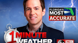 Florida's Most Accurate Forecast with Ivan Cabrera on Saturday, August 5, 2017