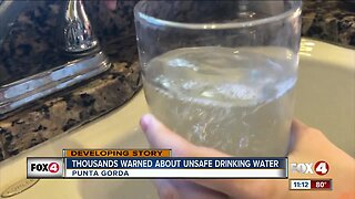 Residents concerned over drinking water in Punta Gorda