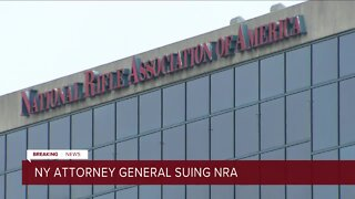 The New York Attorney General files a lawsuit against the National Rifle Association after an 18 month long investigation