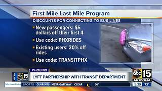 Lyft partnership could get you cheap rides - Video