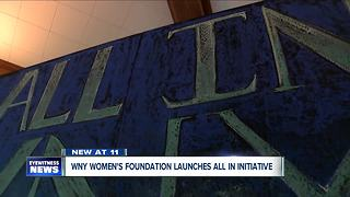 WNY Women's Foundation launches all in initiative - Video