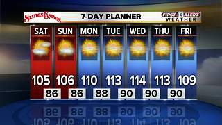 13 First Alert Las Vegas Weather Forecast for July 21 - Video