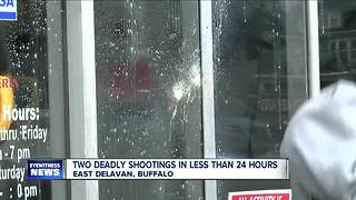 Two deadly shootings in less than 24 hours - Video