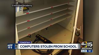 Computers stolen from Valley school - Video