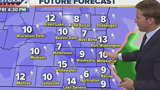 Brian Niznansky's Storm Team 4cast at Noon - Video