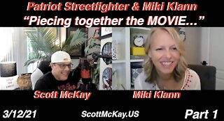 3.12.21 Interview with the brilliant Miki Klann