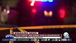 20-year-old man shot dead in West Palm Beach Monday night