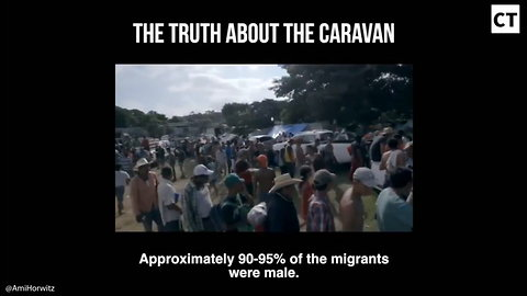 Filmmaker Embedded In Caravan Gets To The Truth. Migrants Themselves Expose Us Media As Total Liars