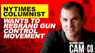 NYTimes Columnist Wants To Rebrand Gun Control Movement