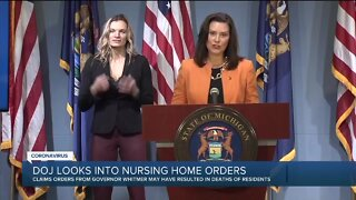 DOJ looks into nursing home orders