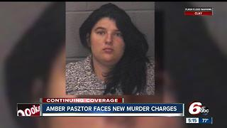 Amber Pasztor, mother who pleaded guilty to killing children, charged in neighbor's murder - Video