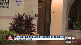 Baby boy was left inside of a hot car - Video