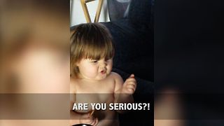7 Adorable Babies With Attitude! - Video