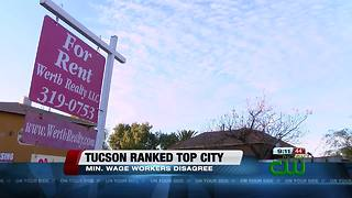 Tucson ranked top city for living comfortably on minimum wage - Video