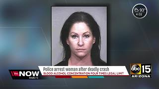 Scottsdale police arrest woman for crash that killed motorcyclist in August - Video