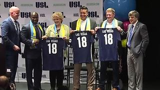 Las Vegas professional soccer team seeks name - Video