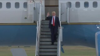 Business owners react to Trump visit