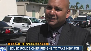San Diego Unified police chief to take new job with county - Video