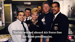 Serving the president at 30,000 feet aboard Air Force One | Rare News - Video