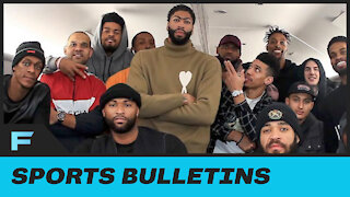 Anthony Davis Reveals Why His Bubble Suite Is CONSTANTLY Being Invaded By Other Players