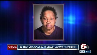 63-year-old woman arrested in connection with brutal Jan. 7 stabbing deathy the courts - Video