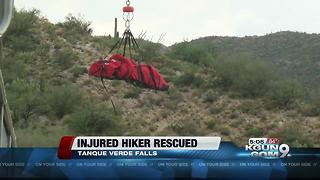 20-year-old man rescued from Tanque Verde Falls trail - Video