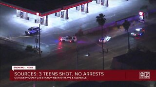 Police investigating triple shooting in Phoenix