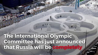 Russia Banned From 2018 Olympics for State-Sponsored Doping Program - Video
