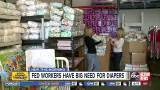 Local mom helps struggling families with free diapers