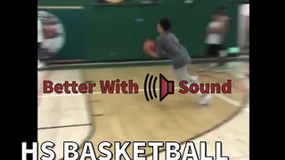 HS Basketball Player Destroys The Backboard - Video