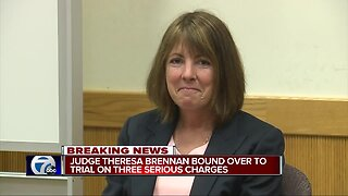 Livingston County Judge Theresa Brennan bound over for trial