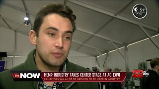 Hemp industry takes center stage at Ag Expo