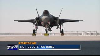 USAF: Boise will not be getting F-35 mission - Video