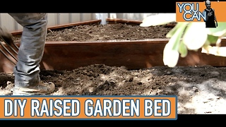 DIY raised garden bed - Video