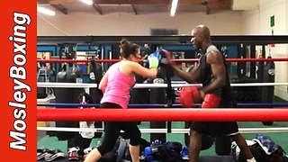 Boxing Defense Tutorial - Catch And Shoot - Part 2 #MosleyBoxing - Video