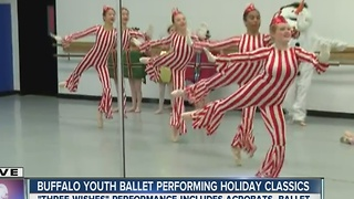 Young dancers put on holiday spectacular! - Video