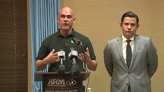 Press conference: Animal Recovery Mission reveals illegal slaughterhouses in Lee County - Video