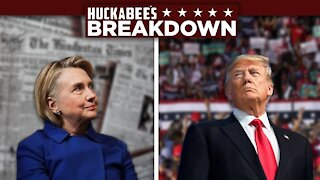 You're Being MANIPULATED & HILLARY Might HAVE To Vote TRUMP! | Breakdown | Huckabee