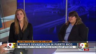 Cincinnati for PR helping with relief efforts - Video