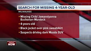 Breaking News: Missing 4-year-old girl after car theft - Video