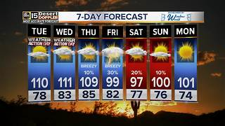 Excessive heat warnings issued for the Valley - Video