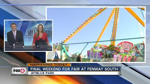 Final weekend for Fair at Fenway South