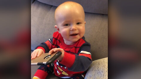 This baby's contagious laughter is one of a kind